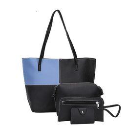 333e2df5420b good quality Women Set Top-handle Big Capacity Women s Colorful Handbag  Fashion Shoulder Bag Purse Ladies Pu Leather Crossbody Bag