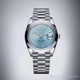 China 2019 Classic Automatic Machinery Imported Movement 126331 Sapphire Glass 40mm Mirror 316 Stainless Steel Case Folding Fashion Men's Watch supplier silver imports suppliers