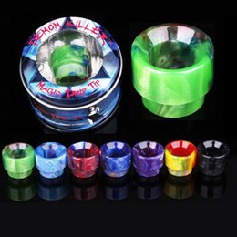 tfv8 wide bore drip tips Australia - 528 Thread Epoxy Resin Wide Bore Drip Tip Mouthpiece Vape Drip Tips for TFV8 TFV12 Prince TFV8 Big Baby Atomizer 528