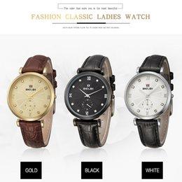 Luxury Wrist Watches China Australia - Belbi Fashion Brand Women's Wrist Watches Ladies Top Brand Luxury Wristwatches AAA Top China Montre Female Leather Quartz Watch