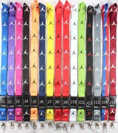Venda da fábrica Novo Frete grátis 10 pcs esporte Roupas logotipo IDENTIFICAÇÃO Cordão Titular da cadeia cadeia de iPod Câmera de Pescoço Cinta Destacável Multicolor