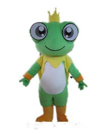 vision direct UK - NEW 2019 Factory direct sale Good vision and good Ventilation a big eyes frog mascot costume for adult to wear