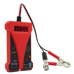 $enCountryForm.capitalKeyWord Australia - MOTOPOWER MP0514C 12V Digital Battery Tester Voltmeter and Charging System Analyzer with LCD Display and LED Indication -Red Rubber Pain