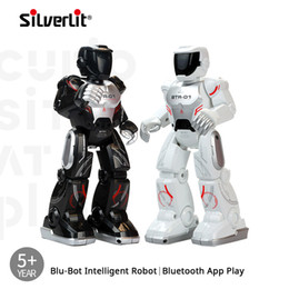 $enCountryForm.capitalKeyWord Australia - Silverlit Smart Bluetooth Robot Kids Boys Multifunction Electric Remote Control Dance Interactive Robot Boy Festival Toy Gift 06