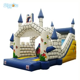 inflatable jumping castles NZ - Free Shipping Commercial Inflatable Bouncy Castle Summer Inflatable Jumping Castle Water Slide Combo with Free Blower