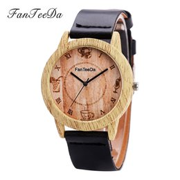 Free Wrist Bands UK - FanTeeDa Fashion men's watch 2019 Luxury Fashion Leather Band Analog Quartz Round Wrist Watch dress Watches free shipping #30