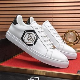 Hexagon boxes online shopping - Fashion Designer Luxury New Mens Shoes Fashion Sneakers with Box Lo Top Sneakers Hexagon Luxury Style Chaussures pour hommes Men Shoes F