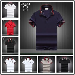 bcf1c7ca 2019 new summer men Luxury polo Brand tide brand clothing short sleeve t- shirt Roar orangutan star Designer tshirt unsex tee cotton tops