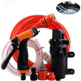 $enCountryForm.capitalKeyWord Australia - Portable 12V Jet Spray Car Wash Washer Gun High Pressure Electric Water Pump Kit