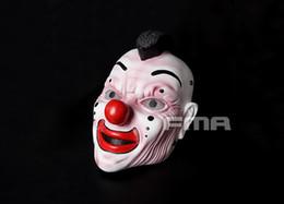 FMA Hallowmas Partido Fantasia Vestido Cosplay CS Slipknot Máscara de Banda Palhaço TB1171 Nova versão Dos Desenhos Animados clássico de Alta Qualidade
