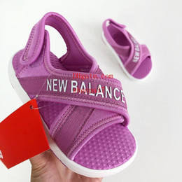 Quality Beach Wraps Australia - baby shoes high quality baby sneakers Breathable Toddler shoes moccasins kids moccs sandals Protective toe Beach shoes addi-1