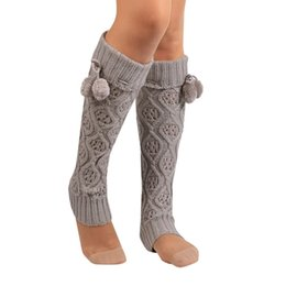 $enCountryForm.capitalKeyWord Australia - high knee socks girls compression socks Women Winter Warm Knitted Leg Warmers Boot Crochet Long calcetines mujer A75