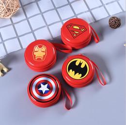 Cartoon Bats Australia - Hot Batman Logo Silicone Coin Purse Novelty Cartoon Anime Hero Bat Man Superman Spiderman Ironman Coin Bag Kids Mini Cute Wallet 1pcs