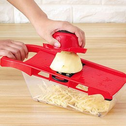 Discount kitchen vegetable dicer - Carrot Cheese Grater Dicer Potato Peeler Kitchen Tool Food Shredder Vegetable Fruit Slicer Cutter With Stainless Steel B