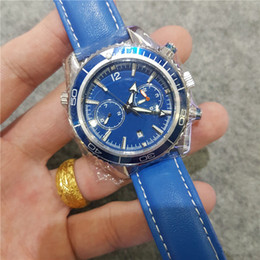 $enCountryForm.capitalKeyWord NZ - Classic Super Blue Green Night Light Mens Watch Chronograph Vk Quartz Watches Top Brand Luxury Clock Professional 007 Wristwatches