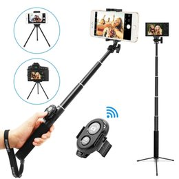 $enCountryForm.capitalKeyWord Australia - UBeesize Cell Phone Selfie Stick, Best iPhone Camera Selfie Stick with Bluetooth Remote and Tripod Stand