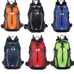 China bag handbags shoulder online shopping - The North Outdoor Travel Camping Shoulder Bags Brand Face Backpack Unisex Knapsack L Sports Hiking Rucksack Handbags Totes Colors C91703