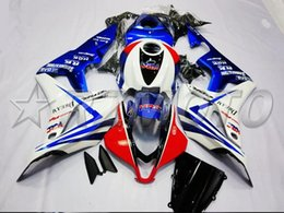 Honda F5 Australia - New Injection Mold Motorcycle ABS Full Fairings kit Fit for HONDA CBR600RR F5 2007 2008 07 08 600RR CBR600 Fairings set white blue red