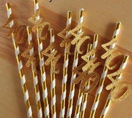 $enCountryForm.capitalKeyWord NZ - Paper Straw With number 30 40 50 60 Drink Straw For Birthday Wedding Anniversary Birthday Party Decoration