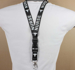 Wholesale 10 PC NURSE Key Lanyard Badge Mobile Phone Neck Straps ID Holders