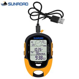 Discount digital lcd watches men - SUNROAD Pocket Watch Women Men Digital LCD Altimeter Barometer Compass Thermometer reloj gps Clock USB Rechargeable