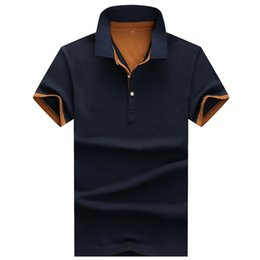 Business Casual Clothes Men Australia - Fashion Poloshirts Polo Shirts For Men Casual Brand Clothing Business Male Breathable Mens Summer Polos Para Hombre C22 Q190525
