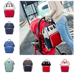 girl diaper mommy NZ - New Diaper Bags Mommy Backpack Nappies Backpack Fashion Mother Maternity Backpacks Outdoor Desinger Nursing Travel Bags Organizer Hot
