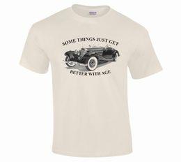 Details Auto Australia - Classic Vintage Mercedes Auto Car Fine Detail Illustration T-Shirt S to 5XLFunny free shipping Unisex Casual Tshirt top