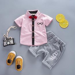 6c66b6c72864 good quality summer boys 2019 clothing sets fashion gentleman party clothes  kids boys cotton sports outfits brand uniform clothing