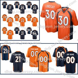 cc17cf0d7 Custom Men s Denver Bronco 7 John Elway 12 Paxton Lynch jersey 88 Demaryius  Thomas 95 Derek Wolfe Jersey 80 Jake Butt Jerseys