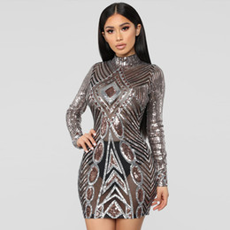 0ba38a00c2 Long Sleeve Sequin Dress Xs Online Shopping | Long Sleeve Sequin ...
