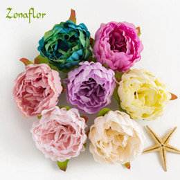 $enCountryForm.capitalKeyWord Australia - rtificial Flowers Peony Head 5PCS Lot Silk Marriage Party Home Decoration Valentines Day Dried Flower For Wedding Decoration Artificial F...