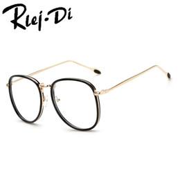 d4685046f0f Discount trendy eyeglasses frames - FA177 Popular Vintage Round Metal Clear  Lens Glasses Frame Trendy Unisex