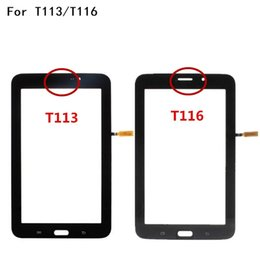 Digitizer Touch Panel For Samsung Tab Australia - New 7.0 inches Touch Screen For Samsung Galaxy Tab 3 Lite SM-T113 T116 Touch Panel Digitizer Sensor Glass Lens
