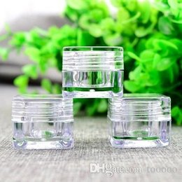Acrylic Eye Cream Jar Australia - 50pcs,5g Cosmetic Empty Jar Pot Eyeshadow Makeup Face Cream Container Bottle Acrylic for Creams Skin Care Products makeup tool