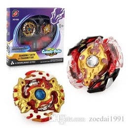 beyblade sets 2019 - 2Pcs Set Beyblade Burst spinning top Toys for Children XD168-7B with Battle Plane with Launcher Metal Fusion 4D beyblade