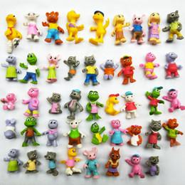 TwisT carToon online shopping - 40 Styles Animation Surround Doll Toys cm PVC Plastic Cartoon Animals Dolls Twist Egg Kids Gift Festive Supplies L442