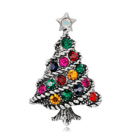 633c5e0f13a Vintage christmas tree pins online shopping - 2019 Fashion Christmas Tree  Brooch Pin for Party Cute