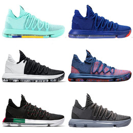 7f300dbdfc36 2019 Zoom KD 10 Multi-Color Oreo Numbers BHM Igloo Men Basketball Shoes 10s  X Elite Mid Kevin Durant Sneakers Trainers Zapatos Chaussures