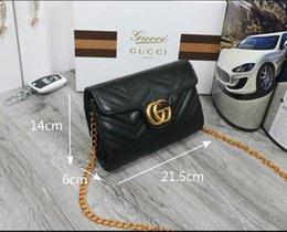 Genuine Leather Handbag Cowhide Shoulder Bag Australia - Designer Handbags high quality Luxury Handbags Famous Brands handbag women bags Real Original Cowhide Genuine Leather chain Shoulder Bags 62