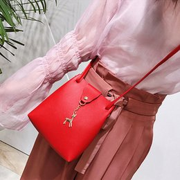 Wholesale 2019 Fashion Lovely Animal Women Bag PU Leather Handbag For Female Shoulder Bag Tote Purse Satchel Clutch Crossbody Bag