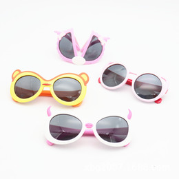 Kids Summer Sunglasses UK - Toddler Kids Sunglasses Flexible Silicon Sunglasses for Boys and Girls Unbreakable for Child Summer Polarized
