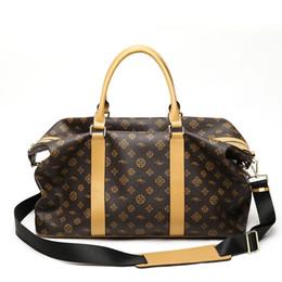 $enCountryForm.capitalKeyWord UK - Waterproof Travel Bags Luxury Duffle Bag Luggage Bag Business Men PVC Handbag sac a main Women Shoulder Bag Large Fitness bolso
