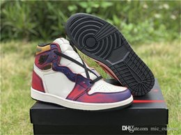 $enCountryForm.capitalKeyWord NZ - Newest Dunk SB x 1 High OG Court Purple Gold Defiant Lakers 1S Men Basketball Shoes Authentic Sports Sneakers CD6578-507