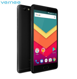 Wholesale DHL Original Vernee Thor Plus GB GB Mobile Phone inch AMOLED HD Octa Core Smartphone Android phone mAh Battery MP Cellphone