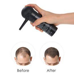 Applicateur de pulvérisation de fibres de cheveux Renforcement des cheveux Pompe de pulvérisation de fibres Styling Extension de poudre de couleur Amincissement Épaississement Outils de croissance des cheveux en Solde