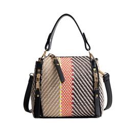 Hot Women Fashion Handbag Ins Popular Female Summer Beach Straw Bag Casual Lady Shoulder Bag Holiday Exquisite Crossbody Ss7222 Buy One Get One Free Luggage & Bags
