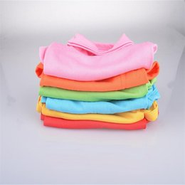 T Shirts Material Wholesale Australia - DHL hot Fashion Dog Polo Shirts For Spring Summer Colorful Pet Clothes Poromeric Material For Small Baby Pet Easy Washing Factory Price