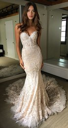 $enCountryForm.capitalKeyWord Australia - Vintage Lace Wedding Dresses Vestido de Novia Strapless Sweetheart Neckline Sleeveless Lace Wedding Dress Bridal Gowns
