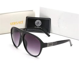 Glasses Sun Protection Australia - Quality Glass gradient lens Fashion Men and Women Sunglasses UV Protection Brand Designer Vintage Sport Sun glasses With box